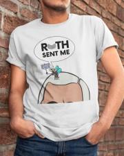Pence Fly Ruth Sent Me Shirt Classic T-Shirt apparel-classic-tshirt-lifestyle-26