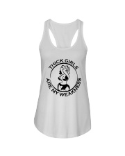 Thick Girls Are My Weakness Shirt Ladies Flowy Tank thumbnail