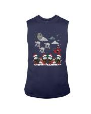 Christmas Star Wars Under Snow Shirt Sleeveless Tee thumbnail
