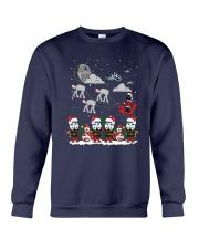Christmas Star Wars Under Snow Shirt Crewneck Sweatshirt thumbnail