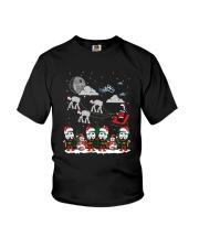 Christmas Star Wars Under Snow Shirt Youth T-Shirt thumbnail