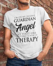 Im On My Second Guardian Angel My First One Shirt Classic T-Shirt apparel-classic-tshirt-lifestyle-26
