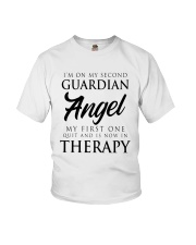 Im On My Second Guardian Angel My First One Shirt Youth T-Shirt thumbnail