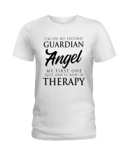 Im On My Second Guardian Angel My First One Shirt Ladies T-Shirt thumbnail