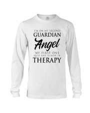 Im On My Second Guardian Angel My First One Shirt Long Sleeve Tee thumbnail