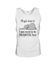 Elephant I'll Get Over It I Just Need To Be Shirt Unisex Tank thumbnail