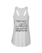 Elephant I'll Get Over It I Just Need To Be Shirt Ladies Flowy Tank thumbnail