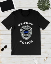 Aubrey Huff Support Law Defend Police Shirt Classic T-Shirt lifestyle-mens-crewneck-front-17