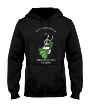 Just A Mer Witch Making Ocean Potions Shirt Hooded Sweatshirt thumbnail