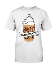 Pumpkin Spice And Fundamental Rights Shirt Premium Fit Mens Tee thumbnail