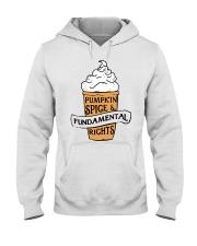Pumpkin Spice And Fundamental Rights Shirt Hooded Sweatshirt thumbnail
