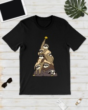 Sloth Christmas Tree Shirt Classic T-Shirt lifestyle-mens-crewneck-front-17