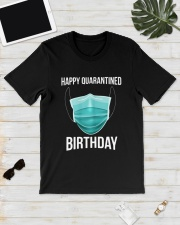 Happy Quarantined Birthday T Shirt Mask Classic T-Shirt lifestyle-mens-crewneck-front-17