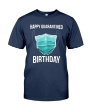 Happy Quarantined Birthday T Shirt Mask Classic T-Shirt tile