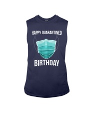 Happy Quarantined Birthday T Shirt Mask Sleeveless Tee thumbnail