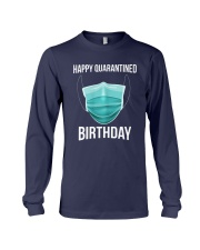 Happy Quarantined Birthday T Shirt Mask Long Sleeve Tee thumbnail