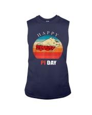Vintage Cherry Pie Happy Pi Day Shirt Sleeveless Tee thumbnail