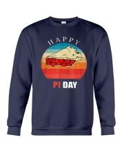 Vintage Cherry Pie Happy Pi Day Shirt Crewneck Sweatshirt thumbnail