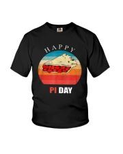 Vintage Cherry Pie Happy Pi Day Shirt Youth T-Shirt thumbnail