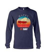 Vintage Cherry Pie Happy Pi Day Shirt Long Sleeve Tee thumbnail