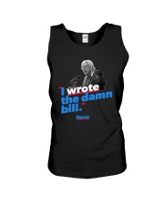 I Wrote The Damn Bill Shirt Unisex Tank thumbnail