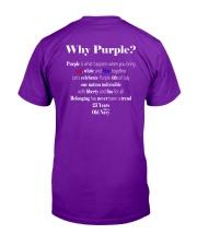 Old Navy Purple Flag Shirt 2019 Classic T-Shirt back