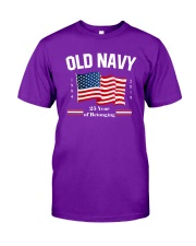 Old Navy Purple Flag Shirt 2019 Classic T-Shirt front