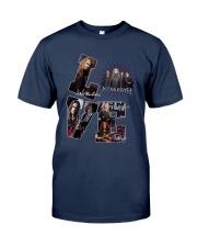 Love Megadeth Signatures Shirt Classic T-Shirt tile