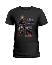 Love Megadeth Signatures Shirt Ladies T-Shirt thumbnail