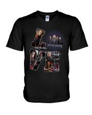 Love Megadeth Signatures Shirt V-Neck T-Shirt thumbnail