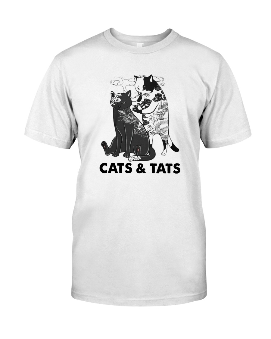 Tattoos Cats And Cats Shirt Classic T-Shirt