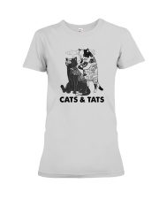 Tattoos Cats And Cats Shirt Premium Fit Ladies Tee thumbnail