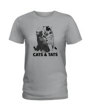Tattoos Cats And Cats Shirt Ladies T-Shirt thumbnail