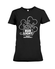 Bud Light Enjoy Responsibly Shirt Premium Fit Ladies Tee thumbnail
