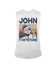 Vintage Drinking Beer John F Keystone Shirt Sleeveless Tee thumbnail