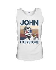 Vintage Drinking Beer John F Keystone Shirt Unisex Tank thumbnail