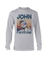 Vintage Drinking Beer John F Keystone Shirt Long Sleeve Tee thumbnail
