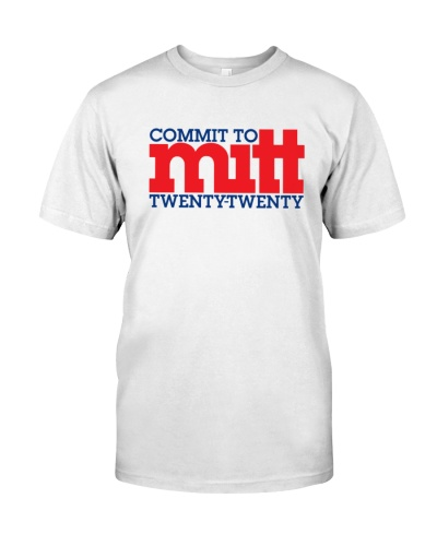 Anthony Scaramucci Commit To Mitt 2020 Shirt