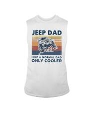 Vintage Jeep Dad Like A Normal Dad Cooler Shirt Sleeveless Tee thumbnail