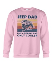 Vintage Jeep Dad Like A Normal Dad Cooler Shirt Crewneck Sweatshirt thumbnail