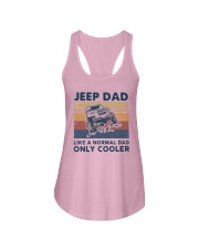 Vintage Jeep Dad Like A Normal Dad Cooler Shirt Ladies Flowy Tank thumbnail