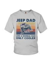 Vintage Jeep Dad Like A Normal Dad Cooler Shirt Youth T-Shirt thumbnail