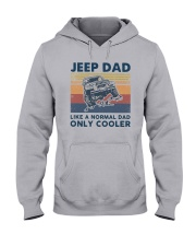Vintage Jeep Dad Like A Normal Dad Cooler Shirt Hooded Sweatshirt thumbnail