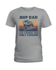Vintage Jeep Dad Like A Normal Dad Cooler Shirt Ladies T-Shirt thumbnail