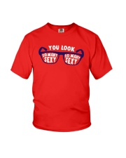 Glasses You Look So Many Sexy Shirt Youth T-Shirt thumbnail