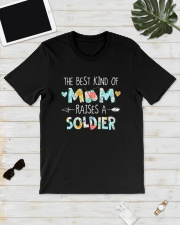 The Best Kind Of Mom Raises A Soldier Shirt Classic T-Shirt lifestyle-mens-crewneck-front-17