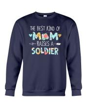 The Best Kind Of Mom Raises A Soldier Shirt Crewneck Sweatshirt thumbnail