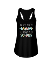 The Best Kind Of Mom Raises A Soldier Shirt Ladies Flowy Tank thumbnail