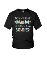 The Best Kind Of Mom Raises A Soldier Shirt Youth T-Shirt thumbnail