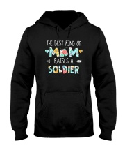 The Best Kind Of Mom Raises A Soldier Shirt Hooded Sweatshirt thumbnail